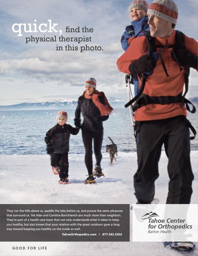 Orthopedic Center Print Advertising