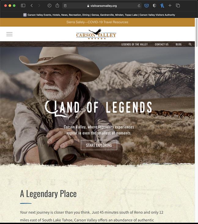 Legends of the Valley Website