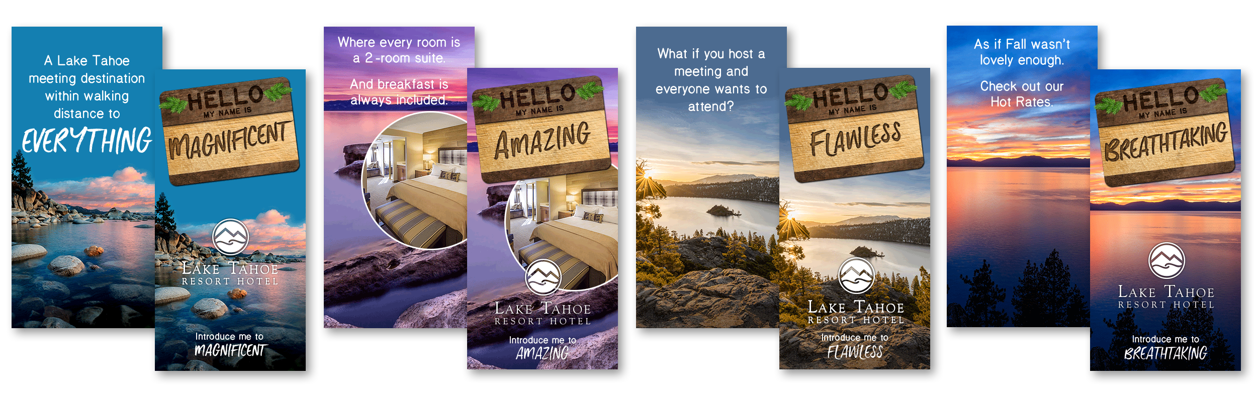 Hello My Name Is - Meeting Planner Web Banners