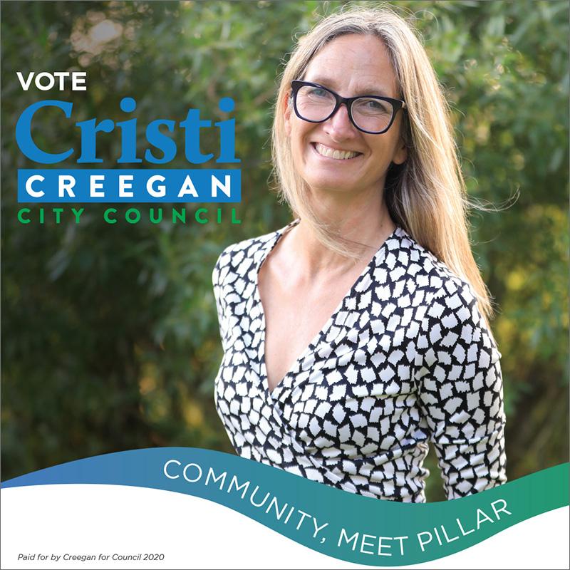 Election campaign social media image