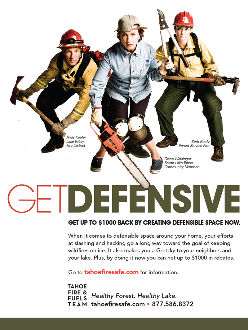 Get Defensive Print Ad