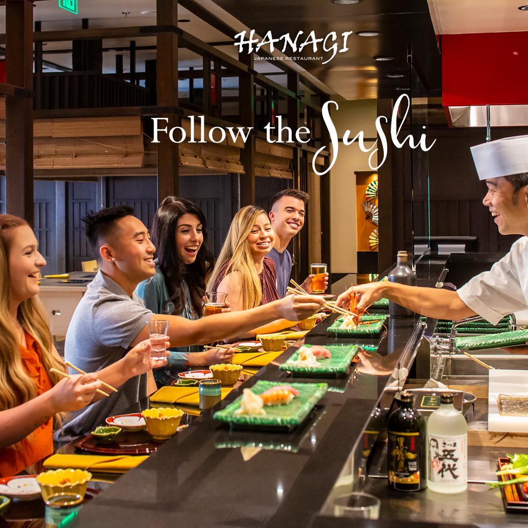 Sushi Bar Social Media Marketing