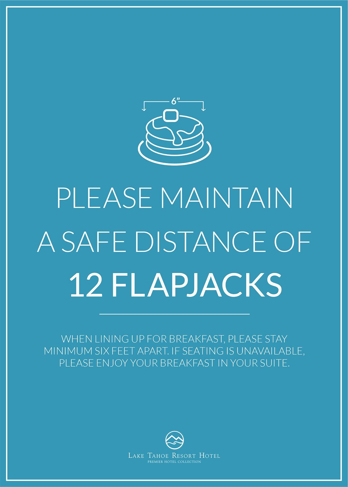 Restaurant Safety Signage