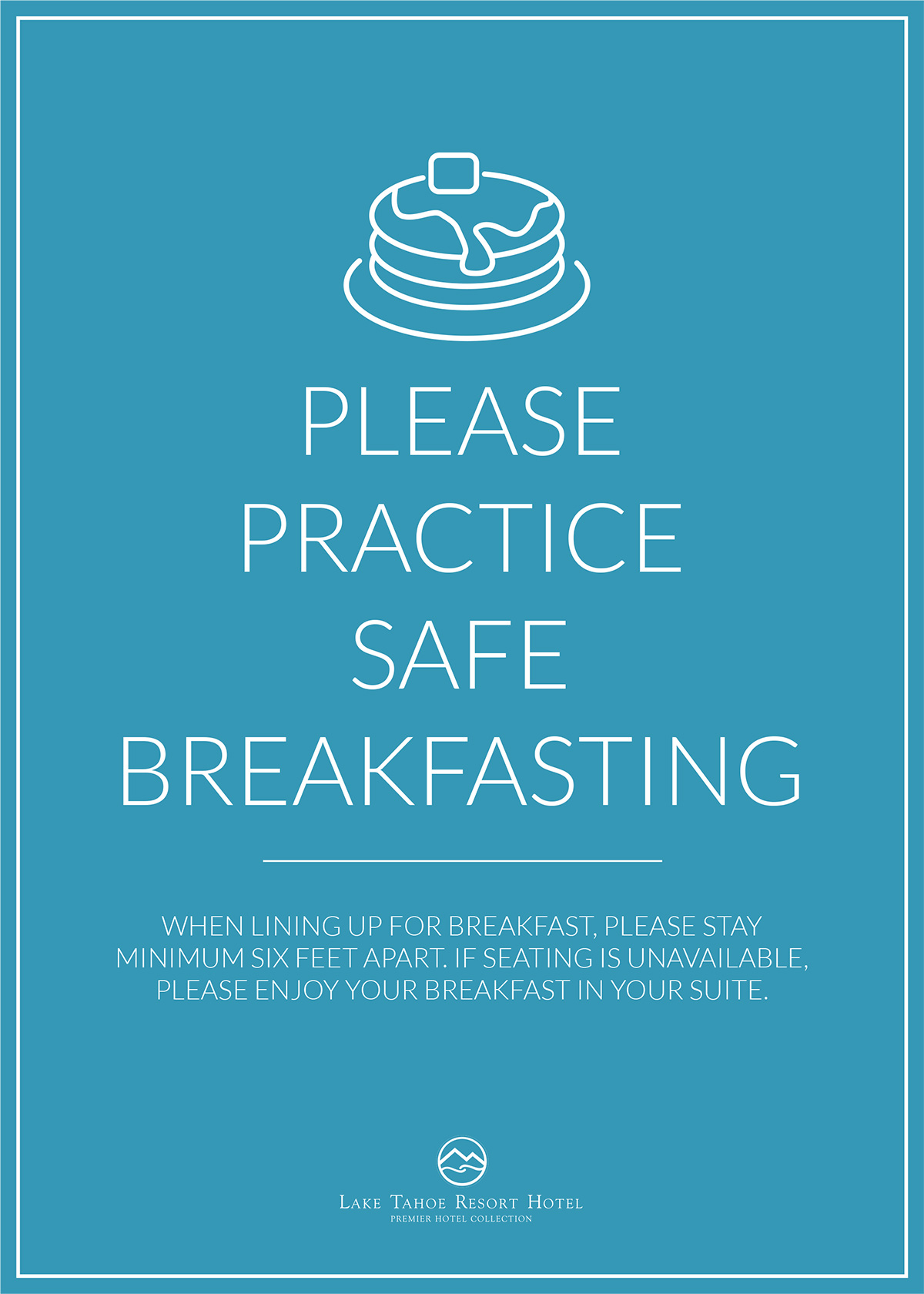 Hotel Safety Poster